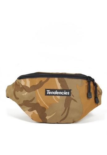 Tendencies multi and brown Tendencies TAN CAMO WAIST BAG 123D0ACEA92CB0GS_1