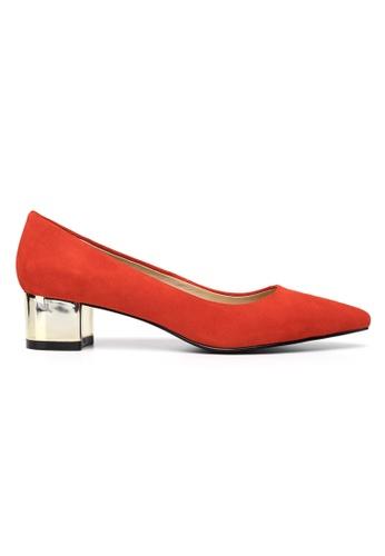 Byford red Maypole 4cm Mid Heels 29C76SH89B1F4CGS_1