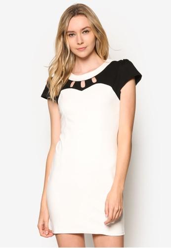 基本款設esprit 京站計迷你貼身連身裙, 服飾, 洋裝