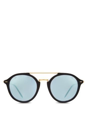 Fitzroy 圓框反光太esprit outlet 台中陽眼鏡, 飾品配件, 飾品配件