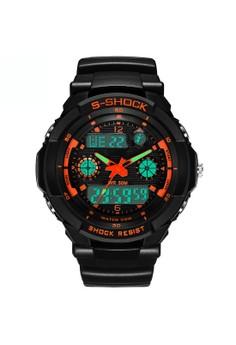 LED Quartz Digital Sports Watch ZG507