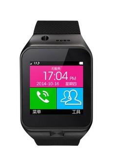 Bluetooth 3.0 Touch Screen Smart Watch - Black