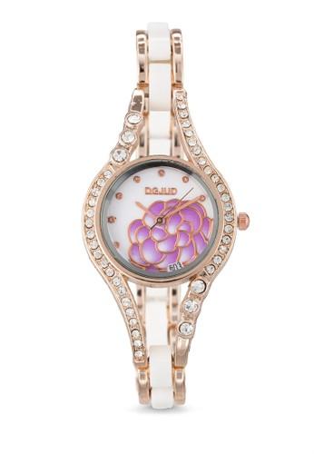 水晶花卉鍊飾手esprit outlet hk錶, 錶類, 飾品配件