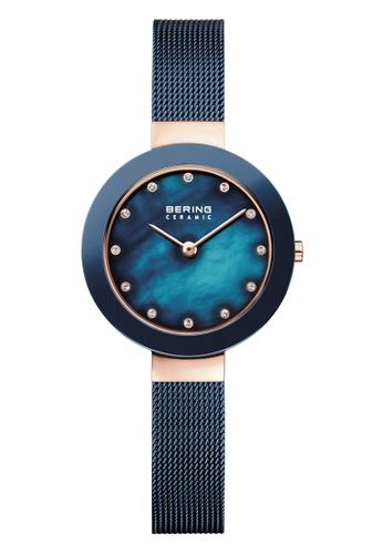 Bering gold Ceramic 11429-367 Blue 29 mm Women's Watch BDCE4AC28A7618GS_1