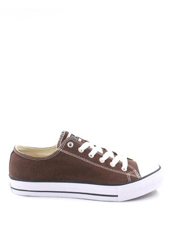 Jazz Star brown Jazz Star Lo Cut Shoe Lace 407-196 A002ESH2976125GS_1