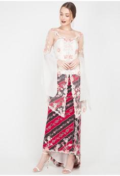71cd3542670 Lombang Batik white Kbaya+ rok panjang 13432AA142BB78GS 1