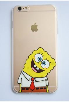 Spongebob Soft Transparent Case for iPhone 6 plus/ 6s plus