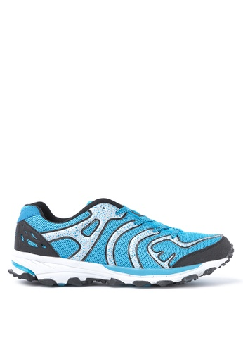 ACCEL black and white and blue and silver Trailblazer Training Shoes AC958SH77LPUPH_1