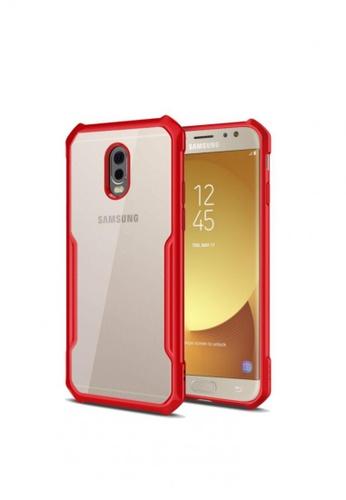 MobileHub red XUNDD Urban Armor Gear Case for Samsung Galaxy J7 Plus 66F84AC4D04EE7GS_1