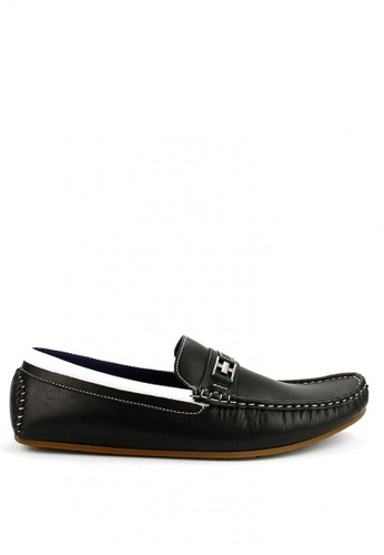 Cardam's Lifestyle black Ridley Casual Loafers 052C4SHAF4872FGS_1