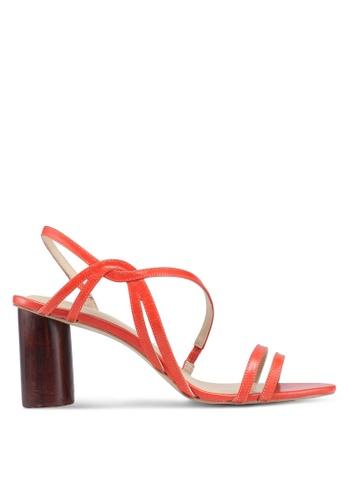 OCEEDEE 橘色 質感高跟鞋 D247BSHC9272CDGS_1