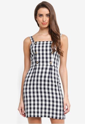 Miss Selfridge multi Gingham Pinny Dress 85EE4AAC0C384BGS_1