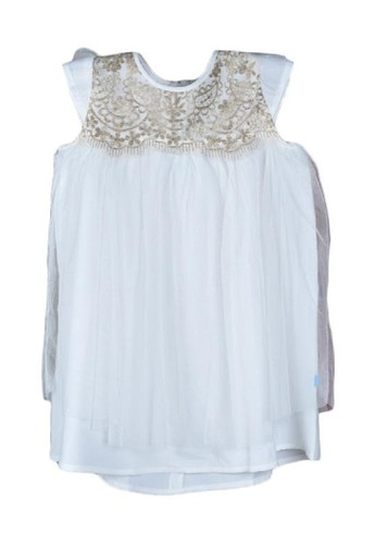 Versail white Versail Enfant Dress Brukat Full Tile 478FBKA7F7F9C5GS_1