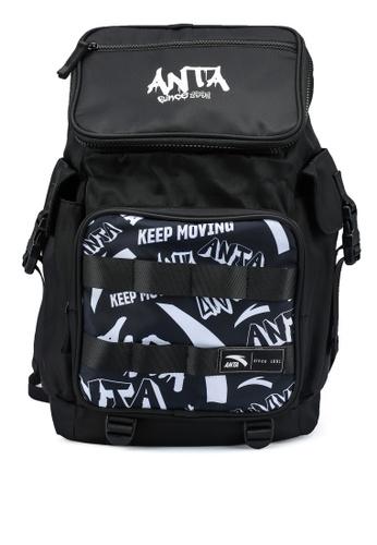 Anta black KM Backpack 920F0AC5104BADGS_1