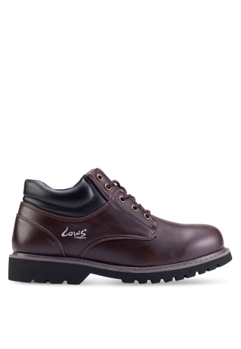 Louis Cuppers red Lace-Up Boots LO977SH55ZKQMY_1