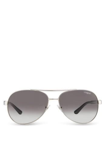 雕花飛行員太陽眼鏡esprit 台中, 飾品配件, 飾品配件