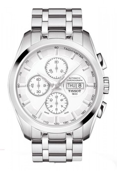 Image of Jam Tangan Pria TISSOT COUTURIER T0356141103100 Stainless Steel Silver