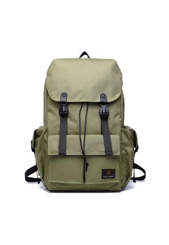 The Dude brown Predator Backpack TH373AC00EHVHK_1