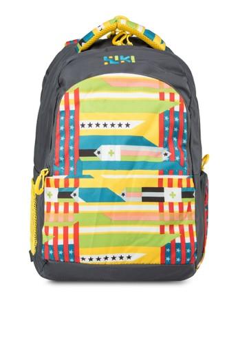 Wikiesprit tst 撞色印花後背包, 包, 旅行背包