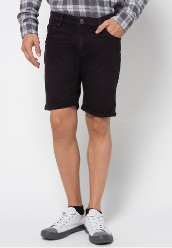 Factorie black Sharp Shooter Shorts FA113AA09PHAID_1