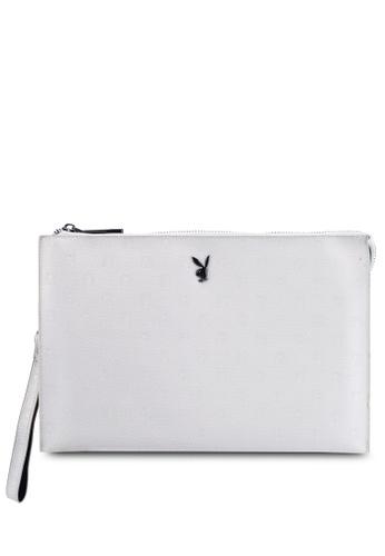 PLAYBOY BUNNY beige Playboy Bunny Clutch Bag 54C44AC5910041GS_1