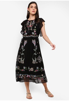 d5a9efb471 Desigual black Sandy Dress 1E86BAA837B165GS 1