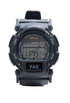 Digital Waterproof Watch (XJ-659ASH)