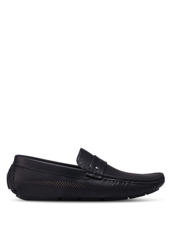 Bata black Slide-On Loafers 5C8E9SH57D9622GS_1