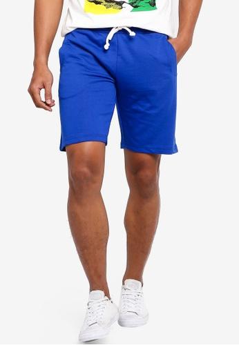 OVS 藍色 Drawstring Shorts CDB87AAD09EFF6GS_1