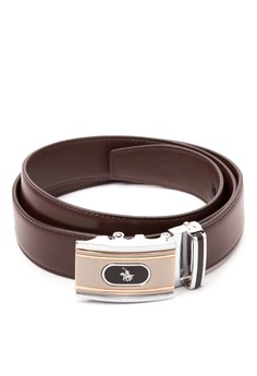 Automatic Lock Leather Belt