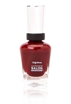 Complete Salon Manicure - Red Zin