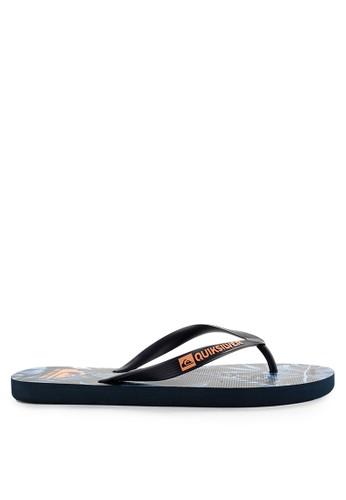 Quiksilver black and orange and blue and multi Javainthevalley M Sndl Xbbn EC126SH4FC4BB3GS_1