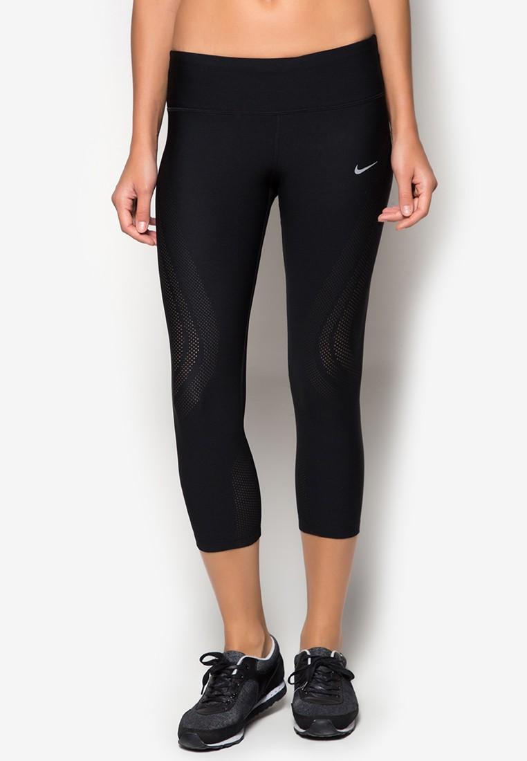 Womens Nike Epic Running Crop Tights