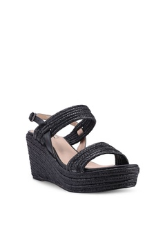 5bcecf773a33 49% OFF Nose Metallic Raffia Wedge Sandals S  52.90 NOW S  26.90 Available  in several sizes