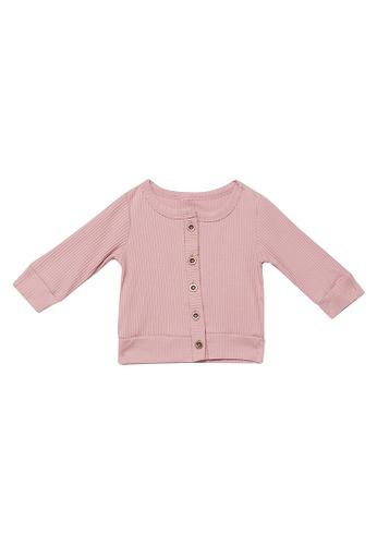 RAISING LITTLE pink Scout Top 8050FKAE995D41GS_1