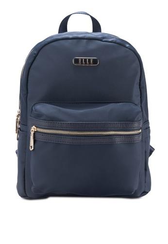 ELLE blue Beyonce Backpack EL900AC37UWKMY_1