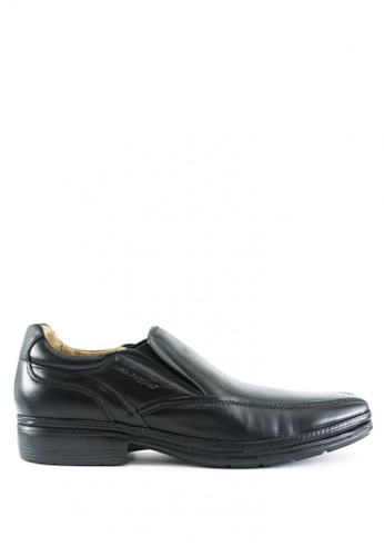 Hush Puppies black Maddox Dress Casual Shoes HU326SH0J3XCPH_1