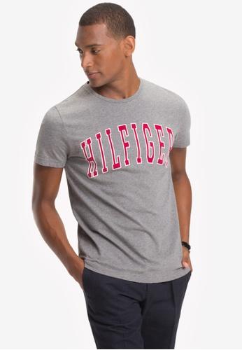 cad1a0e02788 Shop Tommy Hilfiger College Logo T-Shirt Online on ZALORA Philippines