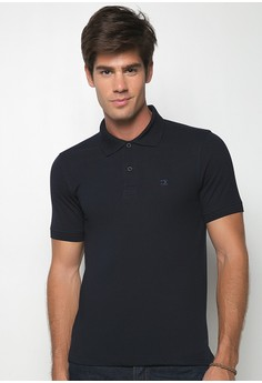 Regular Fit Plain Polotees