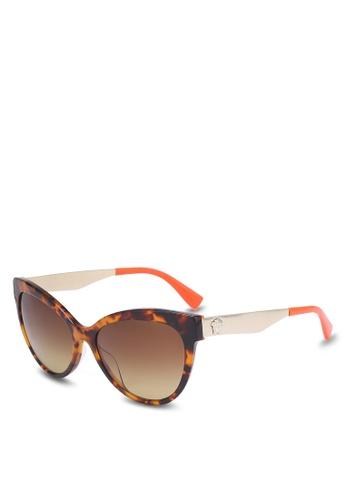 Versace brown Cat Eye VE4338A Sunglasses VE417GL0RBPYMY_1