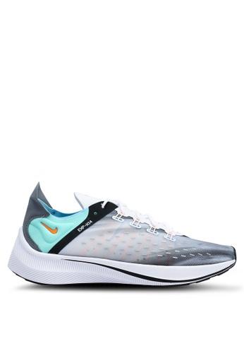 Nike white and multi Nike Exp-X14 Qs Shoes 17583SHFC0E0A5GS_1