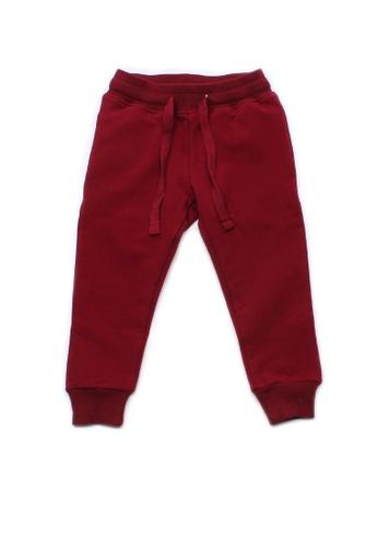 Mini Moley red Boy's Drawstring Sweatpants 5BDDCKA21EB1E4GS_1