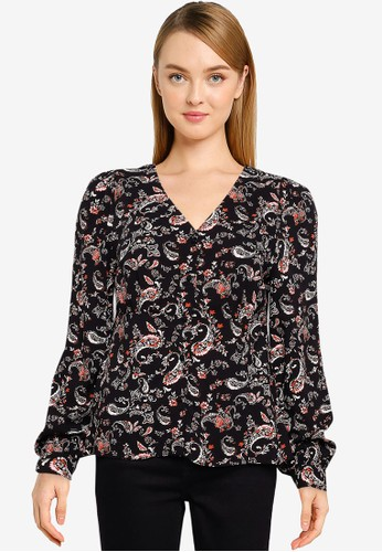 Vero Moda black Simply Easy Shirt 8EC00AA3CB1EE9GS_1