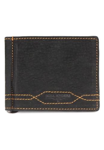 midzone black Genuine Leather Card & Cash Holder MI949AC85GTAMY_1