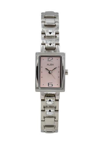 Alba silver ALBA Jam Tangan Wanita - Silver Pink - Stainless Steel - AC3R63 DE80BACB76B50CGS_1
