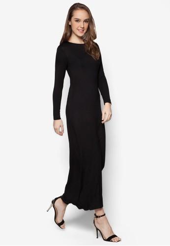 基本款長袖洋裝, esprit outlet 家樂福服飾, 洋裝