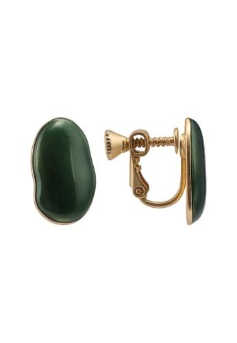 niko and ... green Irregular Earrings 8D953AC555F30EGS_1