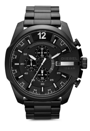 Diesel black Diesel Mega Chief Stainless Steel Watch DZ4283 DI095AC37UCWMY_1