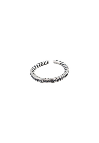 A-Excellence silver Premium S925 Sliver Geometric Ring 81ACDAC2B8F99BGS_1