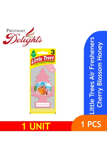 Prestigio Delights pink and multi Little Trees Air Fresheners Cherry Blossom Honey A4679ES3902535GS_1
